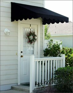 Sunbrella Door Awnings