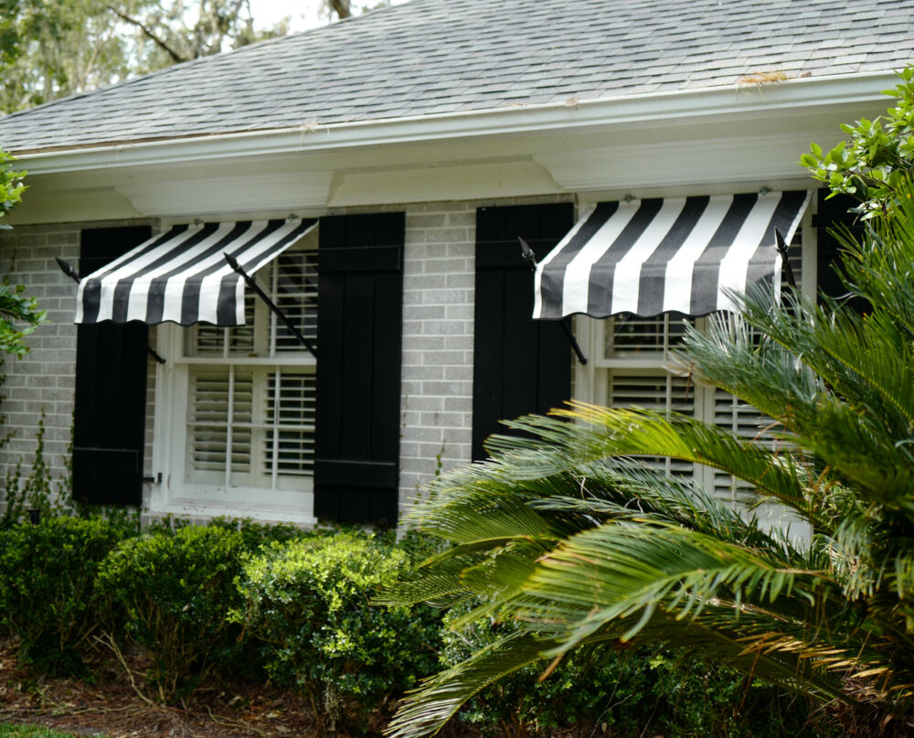 """Spear Window Awnings- 24"""" Projection - PYC Awnings"""