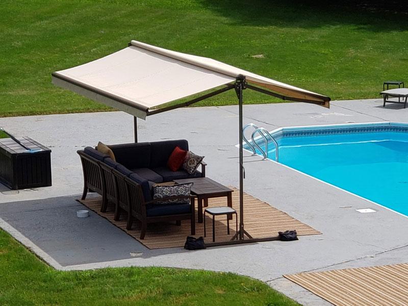 Sunsetter Oasis Replacement Fabric Sunbrella Fabric Pyc Awnings