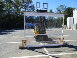 Porch Enclosure Wind Load Test
